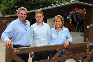 Denis Coakley and family